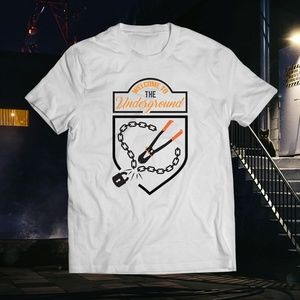 Key to The City Underground White Bolt Cutter Tee
